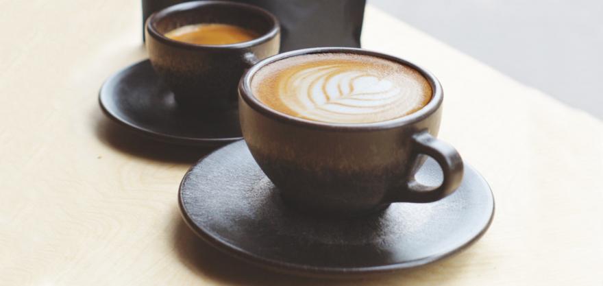 Kaffeetassen aus Kaffeesatz